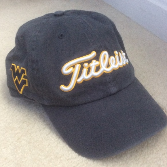 be1c70b0f77dc 💙⚾ 💛Titleist WVU baseball hat💙⚾ 💛